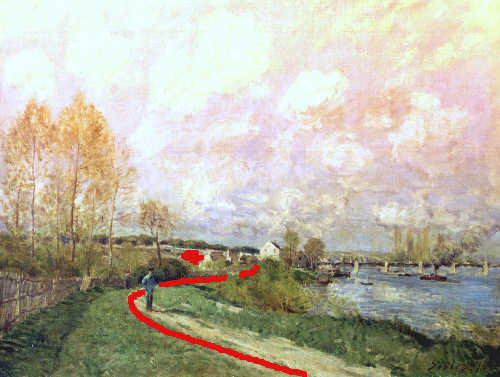 Alfred Sisley Country Side