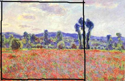 Claude Monet's Poppy Field