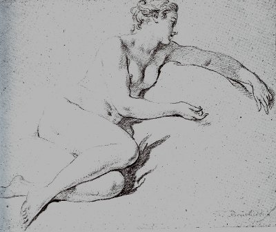 Sharp Eyes Drawing Francois Boucher Drawing