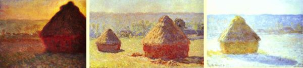 Claude Monet's haystacks