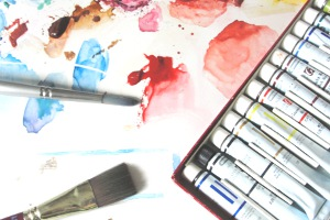 watercolor art supplies