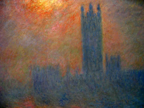 Claude Monet - House of Parliament