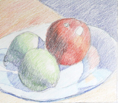Colored Pencil Tutorial Step By Step Demonstration