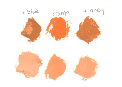 mix flesh colors