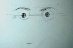 how to draw eyes demo 2