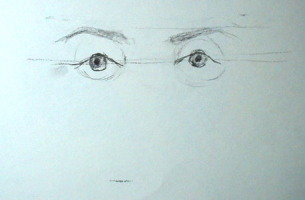 how to draw eyes demo 3