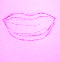 learn how to draw mouths