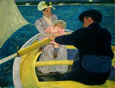 Boating Party by Mary Cassatt