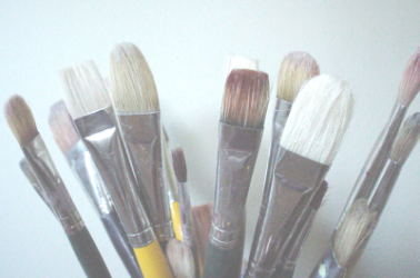 Care for your oil painting brushes