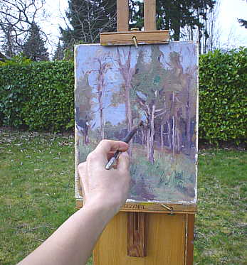 plein aire painting tips