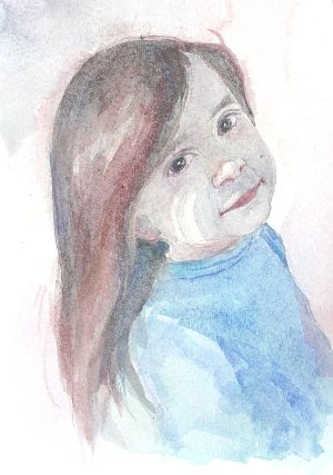 watercolor demo girl 10