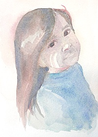 watercolor demo girl 6