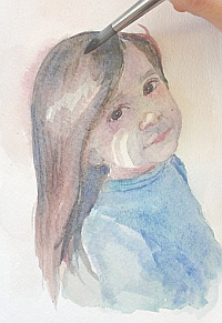 watercolor demo girl 7