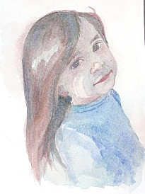 watercolor demo girl 8