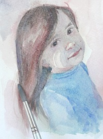 watercolor demo girl 9
