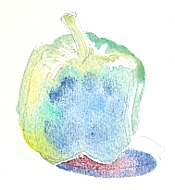 watercolor demo pepper 4