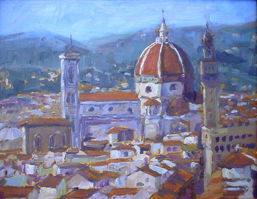 my oil painting gallery Florence