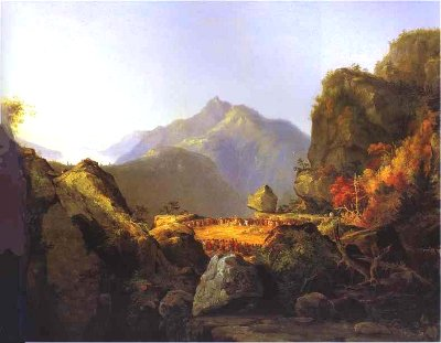 Thomas Cole landscape painting