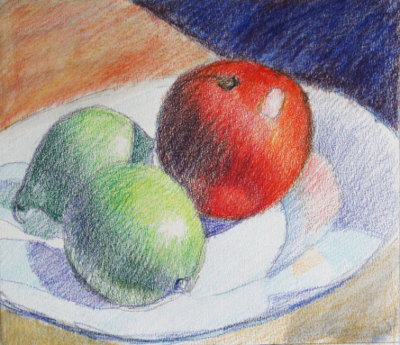 Colored Pencil Tutorial - Step By Step Demonstration