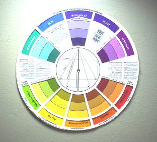 Color Wheels-using them to find color relationships