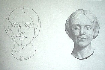 Drawing Tips- You learn by copying old masters' drawings