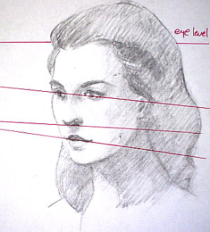 Learn to draw people - understand perspective