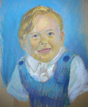 pastel portrait demo 5