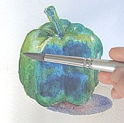 watercolor demo pepper 8